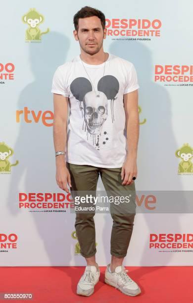 David Mora attends the 'Despido procedente' photocall at Callao cinema on June 29 2017 in Madrid Spain