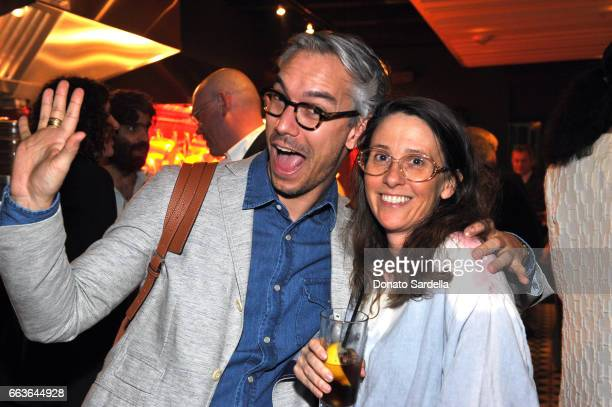 David Morehouse and artist Laura Owens attend MOCA's Leadership Circle and Members' Opening of 'Carl Andre Sculpture as Place 19582010' and 'Arthur...