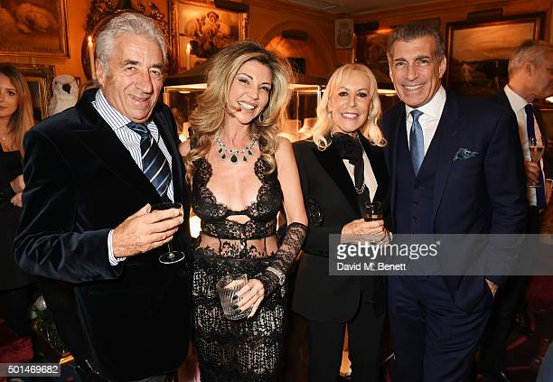 David Morris Lisa Tchenguiz Suzette Morris and Steve Varsano attend the David Morris and Agent Provocateur drinks reception hosted by Jeremy Morris...