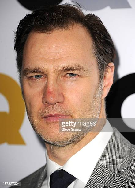 David Morrissey arrives at the GQ Men Of The Year Party at The Wilshire Ebell Theatre on November 12 2013 in Los Angeles California