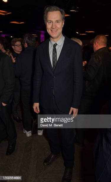 David Morrissey attends a drinks reception celebrating Amanda Nevill as she departs her role as CEO of the British Film Institute at the BFI...