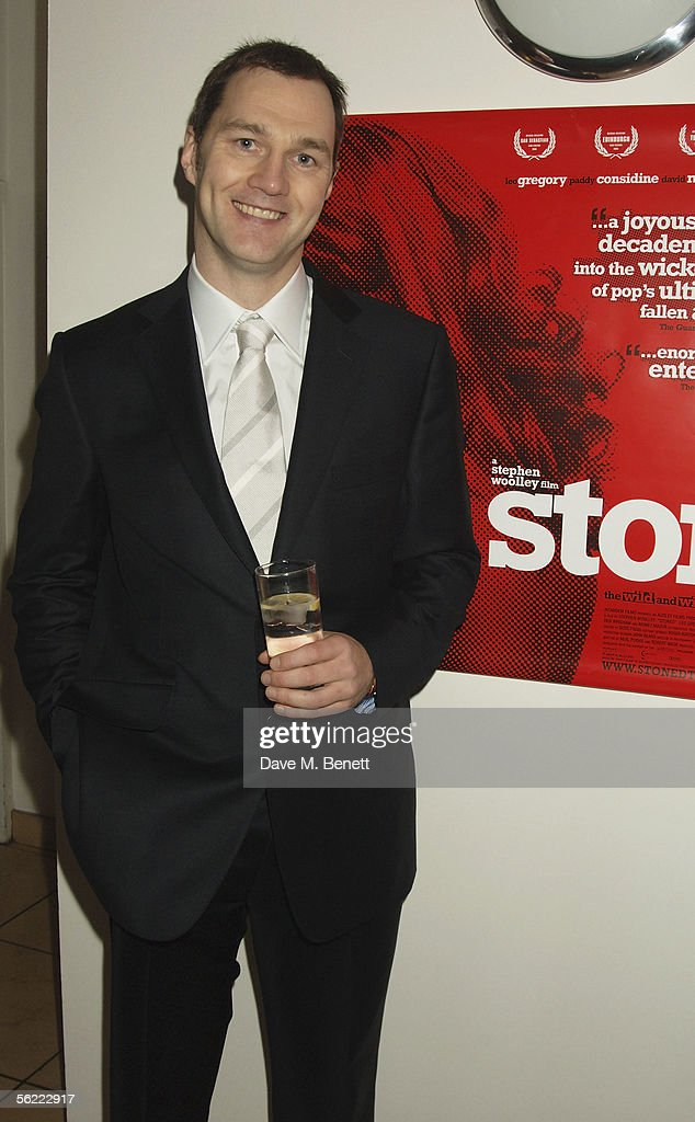 David Morrissey attends the aftershow party followlng the UK Premiere of 'Stoned,' at Century on November 17, 2005 in London, England. The British film chronicles the life and death of Rolling Stones co-founder Brian Jones, found drowned just weeks after being let go from the band.