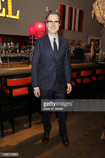 David Morrissey attends The Casting Awards 2020 at The Ham Yard Hotel on February 11 2020 in London England