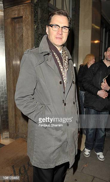 David Morrissey attends the Radio Times Covers Party at Claridge's Hotel on January 18 2011 in London England