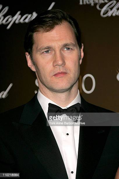 David Morrissey during 2005 Cannes Film Festival Chopard Trophy Awards Photocall at Carlton Hotel in Cannes France