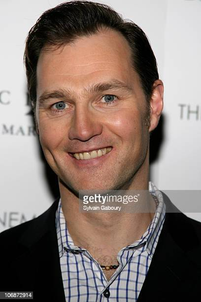 David Morrissey during The Cinema Society and Dior Beauty presented MGM Pictures and Sony Pictures World Premiere of Basic Instinct 2 at AMC Lincoln...