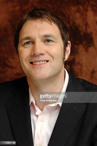 David Morrissey during The Reaping Press Conference with Hilary Swank David Morrissey and Anna Sophia Robb at Intercontinental Hotel in Century City...