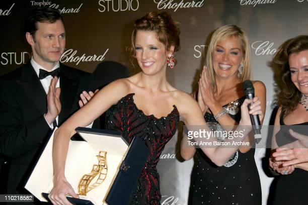 David Morrissey Kelly Reilly Sharon Stone and Caroline GruosiScheufele