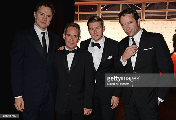 David Morrissey Tom Hollander Allen Leech and James Purefoy attend the BFI London Film Festival IWC Gala Dinner in honour of the BFI at Battersea...