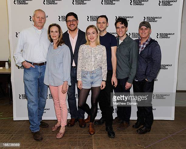 David Morse Lisa Emery Rich Sommer Sarah Goldberg Christopher Denham Steven Levenson and Scott Ellis attend the The Unavoidable Disappearance of Tom...