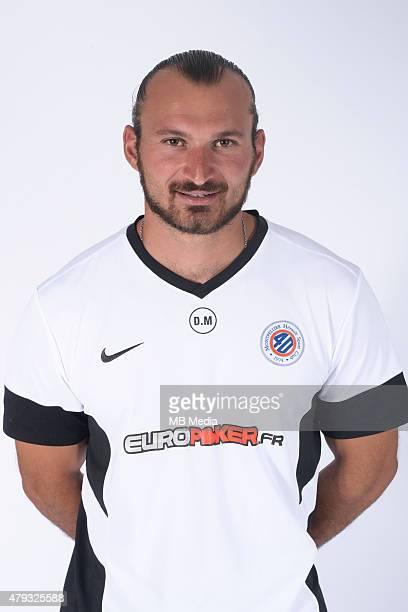 David MOULIN Portraits officiels Montpellier Ligue 1 2014/2015 Icon Sport/MB Media