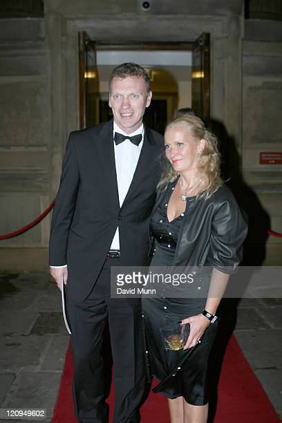 David Moyes Everton Manager and guest attends the Royal Variety Performance at Liverpool Empire Theatre December 3 2007 in Liverpool England