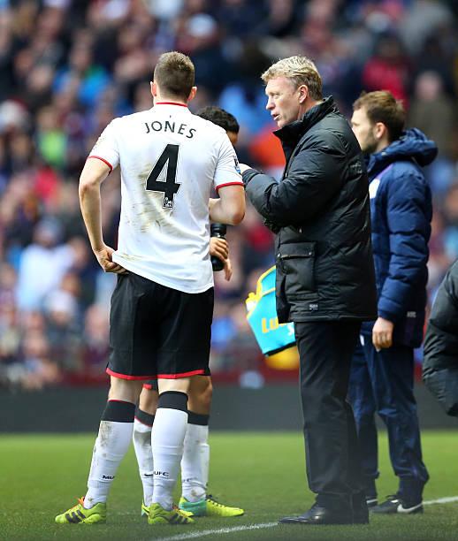 Soccer : Barclays Premier League - Aston Villa v Manchester United