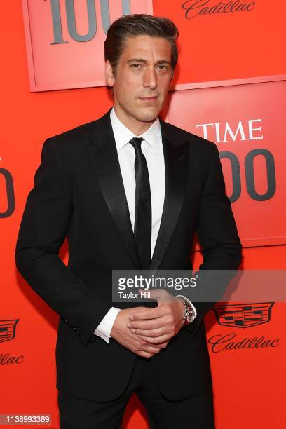 David Muir attends the 2019 Time 100 Gala at Frederick P Rose Hall Jazz at Lincoln Center on April 23 2019 in New York City