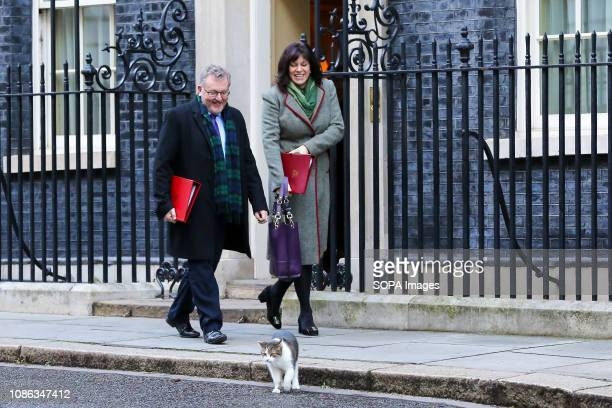David Mundell Secretary of State for Scotland Claire Perry Minister of State at Department for Business Energy and Industrial Strategy and Larry the...