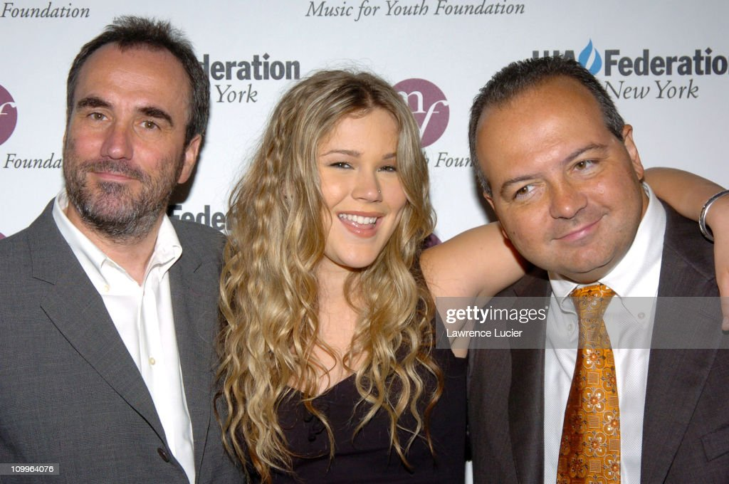 David Munns, Joss Stone and Rob Glaser during UJA Luncheon Honoring David Munns and Rob Glaser at The Pierre Hotel in New York City, New York, United States.