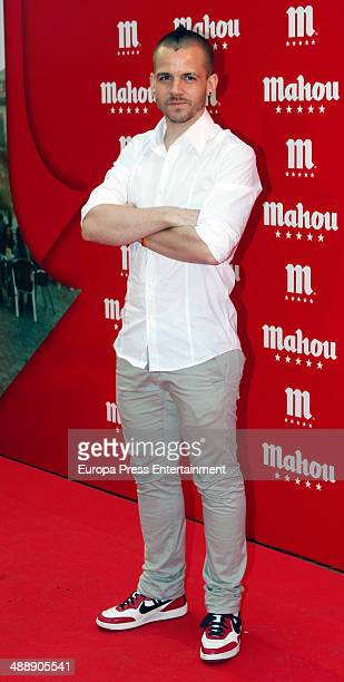 David Munoz attends new campaign 'Descubre Que Bien Sabe Ser De Mahou' presentation at MedialabPadro Madridon May 8 2014 in Madrid Spain