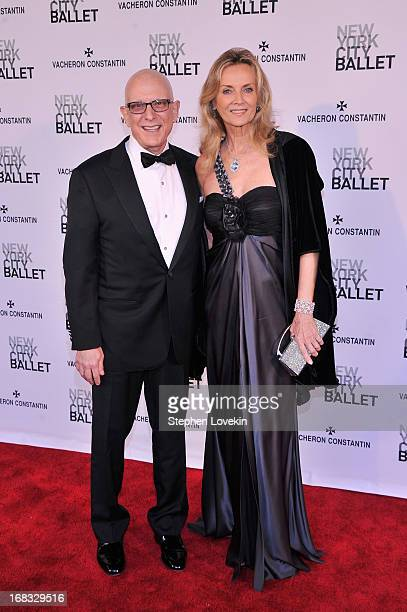 David Nadler and Bonnie Pfeifer Evans attend New York City Ballet's Spring 2013 Gala at David H Koch Theater Lincoln Center on May 8 2013 in New York...