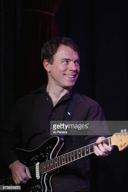 David Nadler performs as part of Wesley Stace's Cabinet of Wonders variety show at City Winery on November 17 2017 in New York City