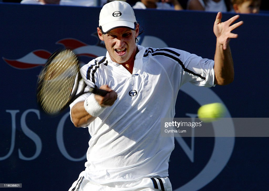 2003 US Open - Mens Singles - Third Round - David Nalbandian vs. Mark