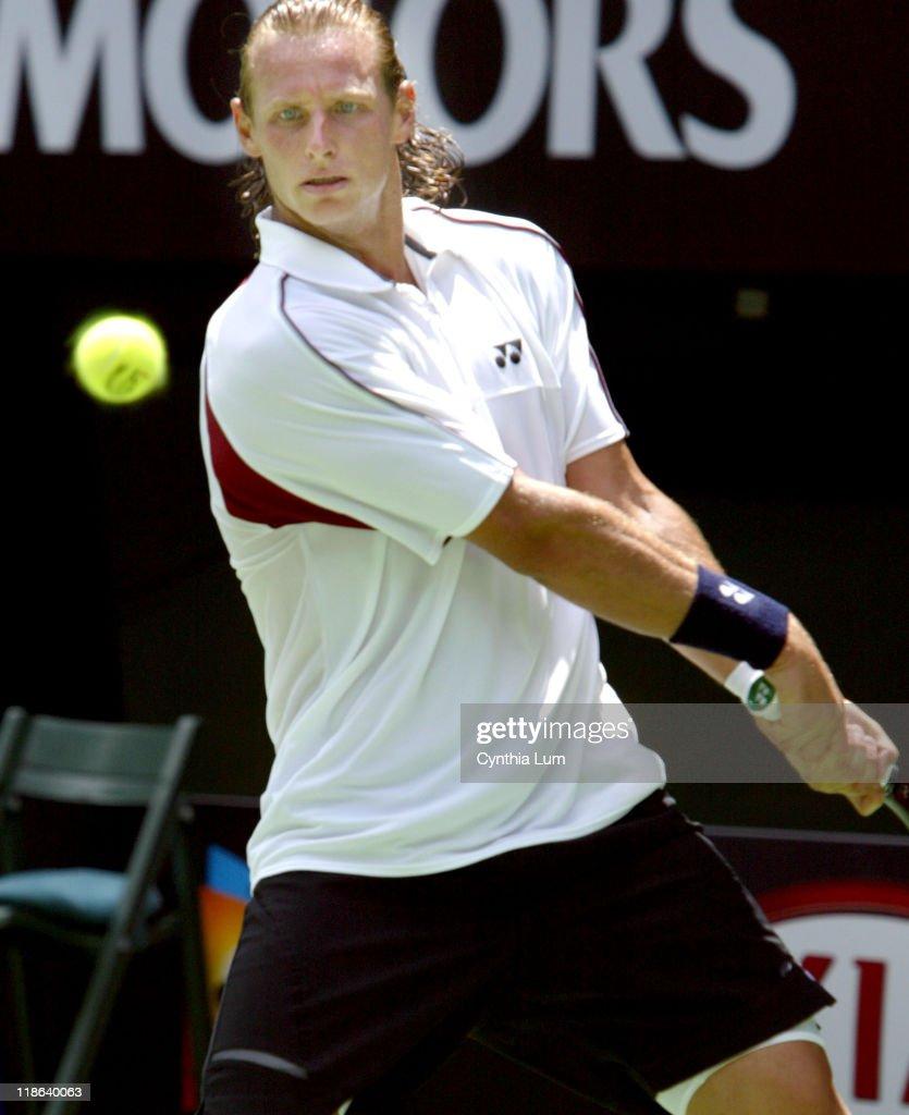 2004 Australian Open - Men's Singles - Fourth Round - David Nalbandian vs