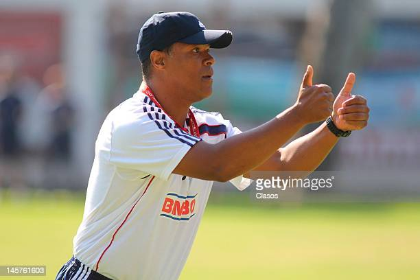 David Nascimento of Chivas in action during a training session at Club Verde Valle on June 04, 2012 in Zapopan, Mexico.