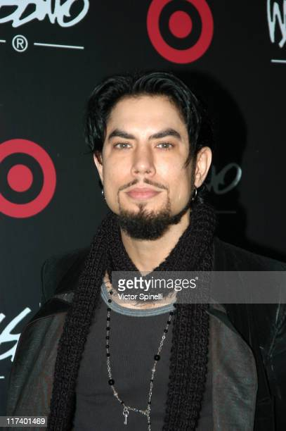 David Navarro during Target Hosts LA Fashion Week Party for Designer Mossimo Giannulli at Area in Los Angeles California United States