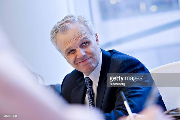 David Neeleman, founder of Azul Linhas Aereas Inteligentes, pauses during an editorial board meeting in New York, U.S., on Monday, April 20, 2009....