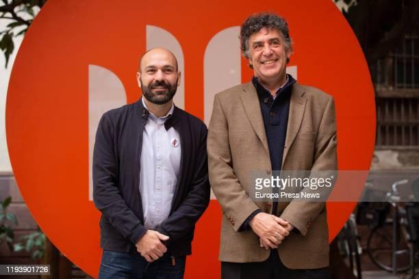 David Nello 60 Sant Jordi Novel Prize during the 69 Nit de Santa Llúcia on December 13 2019 in Barcelona Spain