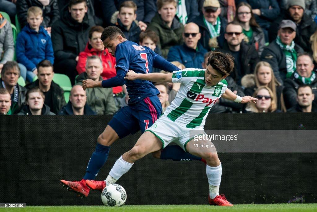 """Dutch Eredivisie""""FC Groningen v Ajax"""" : News Photo"""