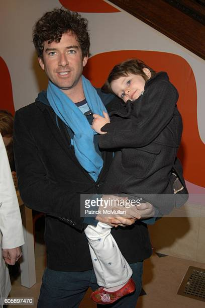 David Netto and Kate Netto attend DOMINO Magazine party to celebrate The Woodycrest House Design Project at The Ukrainian Institute on April 11 2006