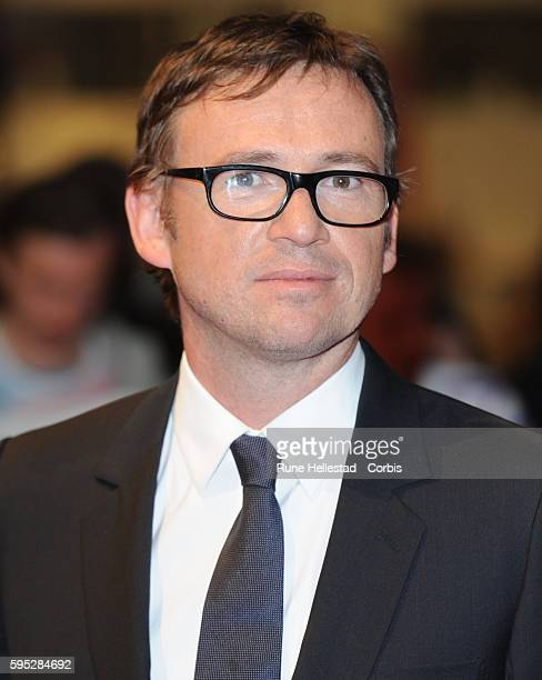 David Nicholls attends the premiere of One Day at Westfield