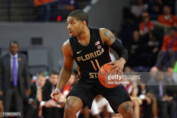 David Nichols forward for Florida State during a college basketball game between the Florida State Seminoles and the Clemson Tigers on February 19 at...