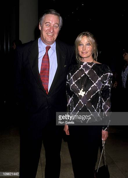 David Niven Jr and Bo Derek during Entertaining Liza Benefit for RADD June 7 1999 at Beverly Hilton Hotel in Beverly Hills California United States