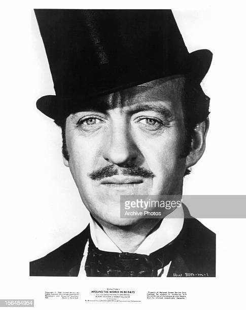 David Niven publicity portrait for the film 'Around The World In Eighty Days' 1956
