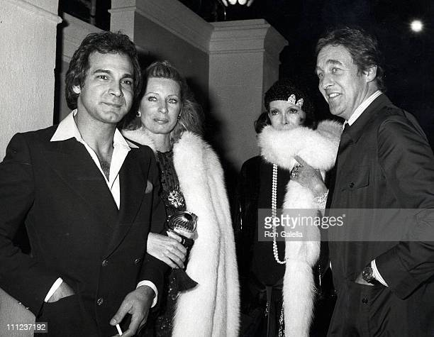David NivenCamilla Sparv and Guest during Rod Stewart's Birthday Party January 10 1981 at Rod Stewart's Home in Beverly Hills California United States