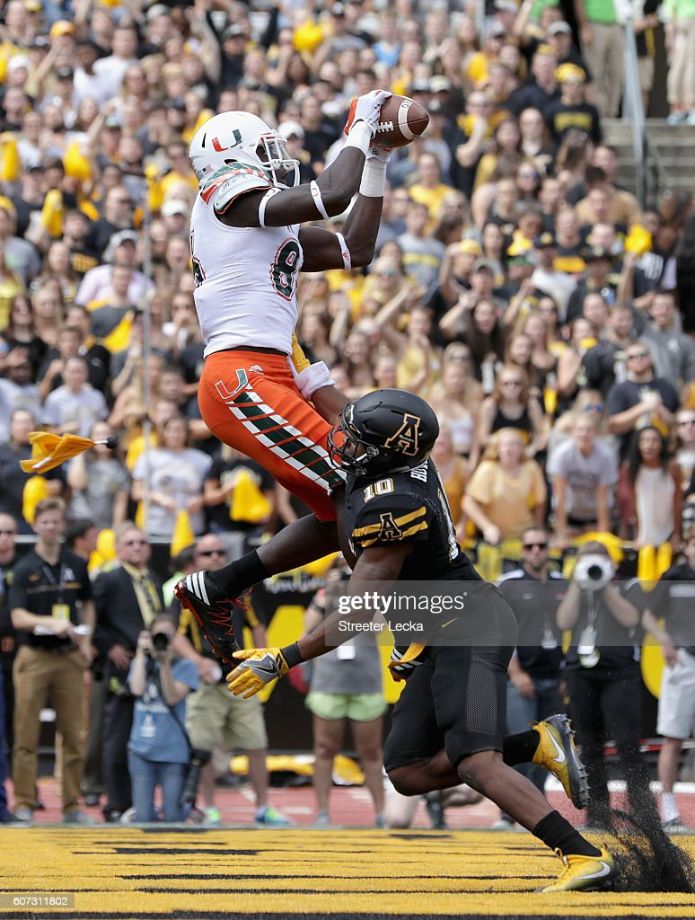 Miami v Appalachian State : News Photo