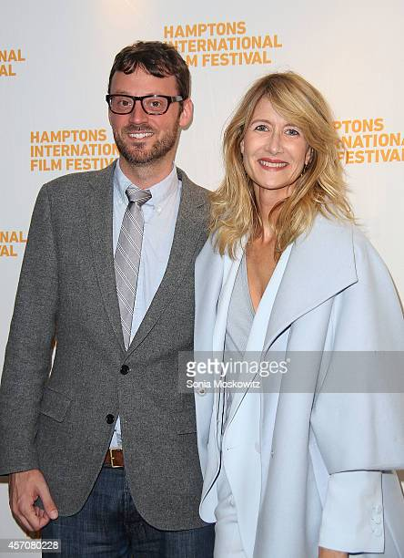 David Nugent and Laura Dern attend The Hampton International Film Festival 'Wild' PremiereConversation with Laura Dern at The Bay Street Theater on...
