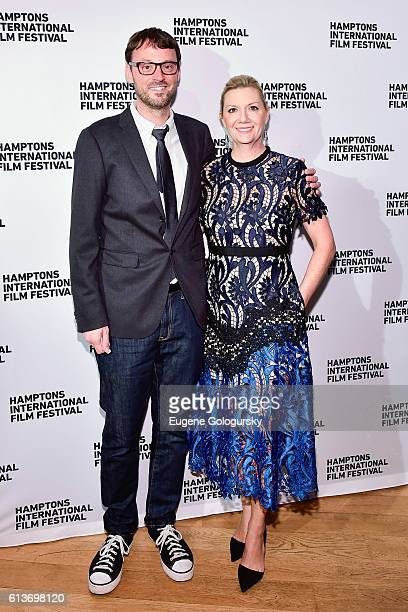 David Nugent Artistic Director of the HIFF and Anne Chaisson Executive Director of the HIFF attend the Awards Dinner at the Hamptons International...
