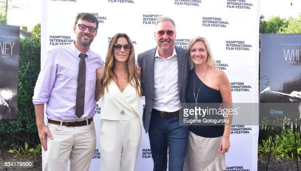 David Nugent Cristina Cuomo Ian Duke and Anne Chaisson attend the The Hamptons International Film Festival SummerDocs Series Screening of WHITNEY CAN...
