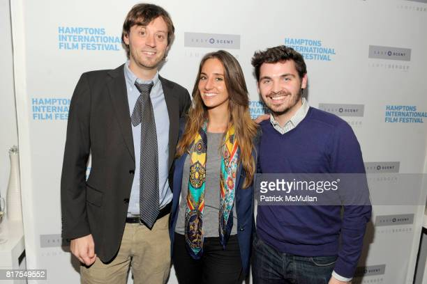 David Nugent Gabrielle Graham and Bill Curran attend LAMPE BERGER'S Pop Up Store hosts Reception and screening of Hamptons International Film...