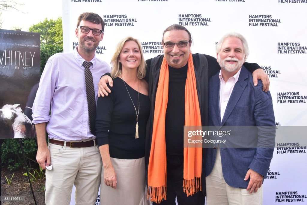 David Nugent, Rudi Dolezal, Anne Chaisson, and Randy Mastro attend the The Hamptons International Film Festival SummerDocs Series Screening of WHITNEY. 'CAN I BE ME' at UA Southampton 4 Theatres on August 17, 2017 in Southampton, New York.