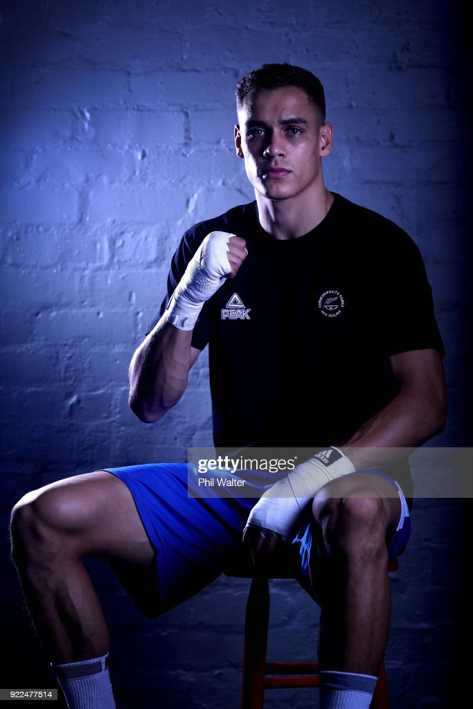 New Zealand Commonwealth Games Boxing Team Announcement : Nachrichtenfoto