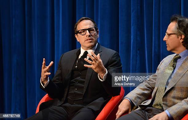 David O Russell Academy Awardnominated writer and director speaks onstage during 'A Leading Role How Film and TV Can Change The Lives of Children'...