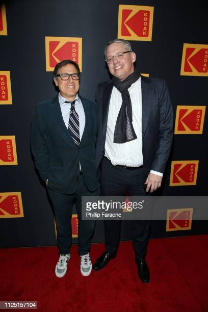 David O Russell and Adam McKay attend the 3rd annual Kodak Awards at Hudson Loft on February 15 2019 in Los Angeles California