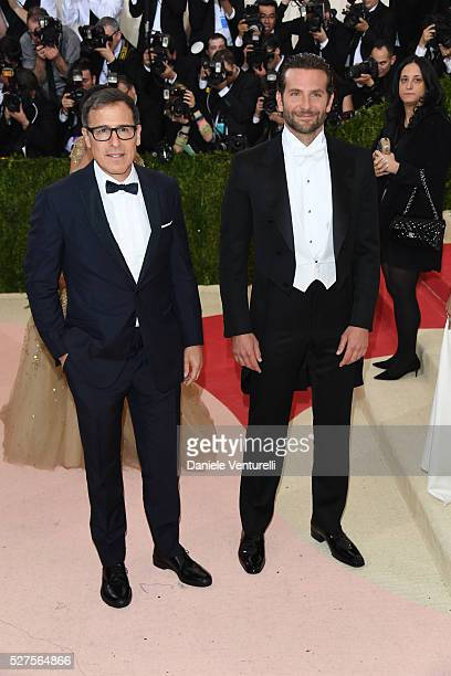 David O Russell and Bradley Cooper attend the 'Manus x Machina Fashion In An Age Of Technology' Costume Institute Gala at the Metropolitan Museum on...