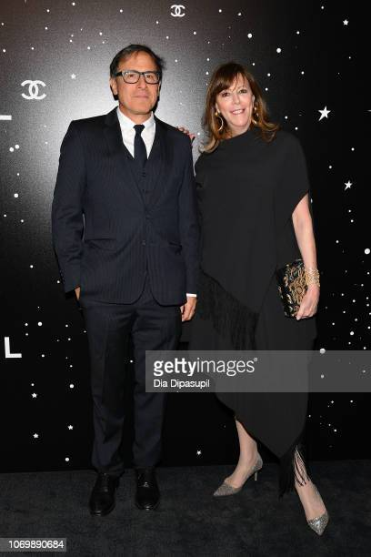 David O Russell and Jane Rosenthal attend the 2018 Museum of Modern Art Film Benefit A Tribute To Martin Scorsese at Museum of Modern Art on November...