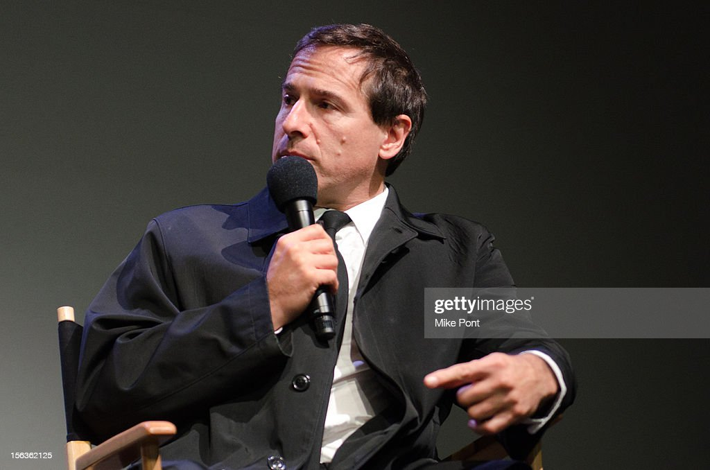 David O. Russell attends Meet The Filmmaker: 'Silver Linings Playbook' at the Apple Store Soho on November 13, 2012 in New York City.
