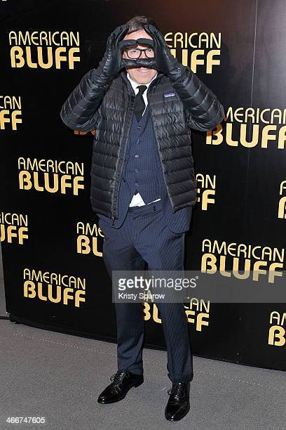 David O Russell attends the 'American Bluff' Paris Premiere at Cinema UGC Normandie on February 3 2014 in Paris France
