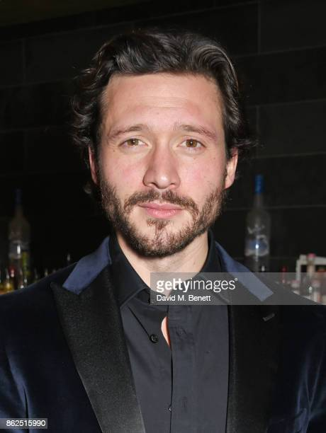David Oakes attends the press night after party for Venus In Fur at Mint Leaf on October 17 2017 in London England
